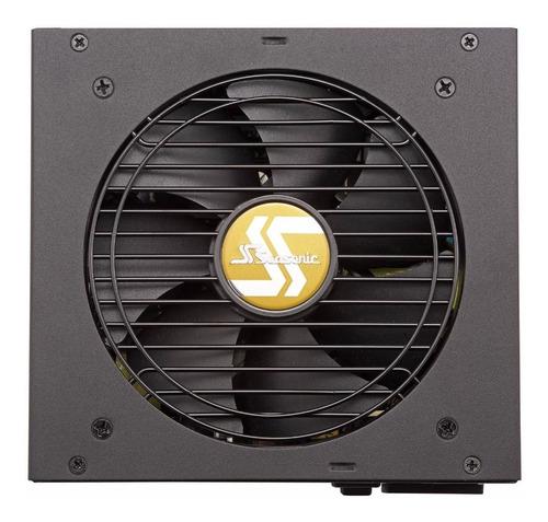 fuente seasonic fm -650 real focus 650w 80 gold semi modular