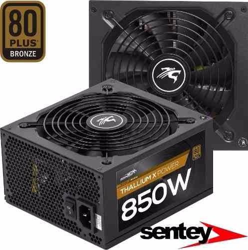 fuente sentey txp850 hs 850w 80 plus bronze  real 68a gamer