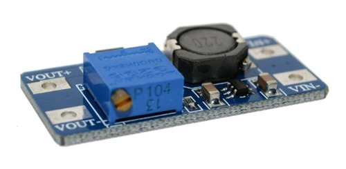 fuente step up mt3608 dc dc 2a booster hasta 28v arduino