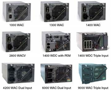 fuente switch chassis cisco 4500 inline power 1300acv