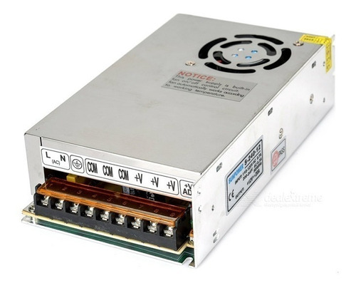 fuente switching 12v 20a superior 15 16a tira led cooler