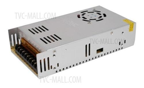 fuente switching 12v 30a 30amp regulada metal tira led cctv