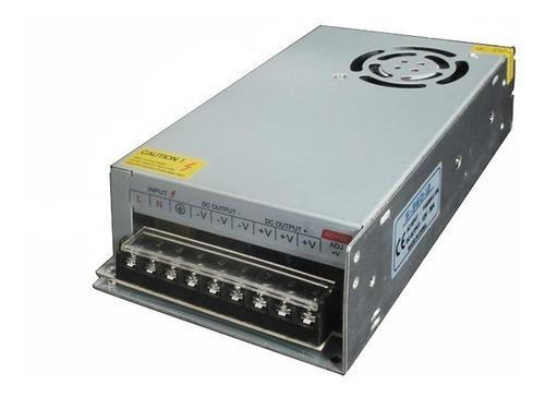 fuente switching 12v 30a  metalica leds cctv oferta!!!!