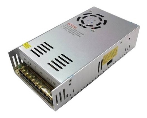 fuente switching 12v 30amp regulada bornera tira led cctv