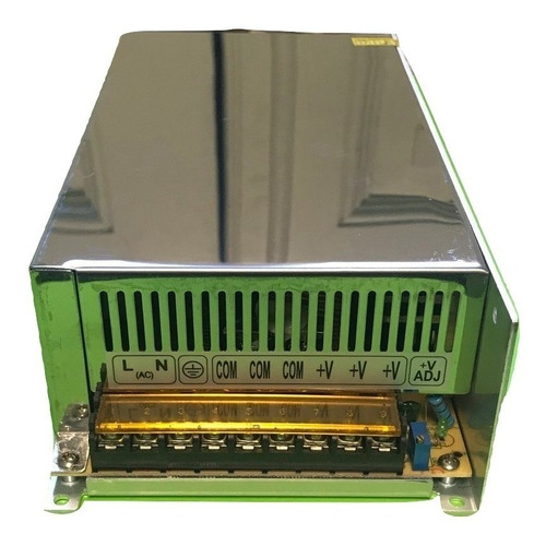 fuente switching 12v 40a metalica led leds cctv 480w