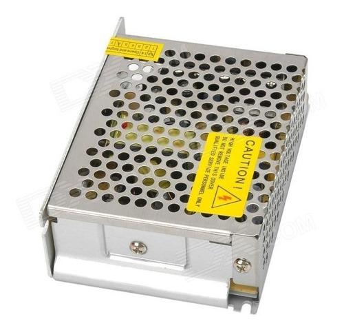 fuente switching 12v 5a apta para tiras de leds
