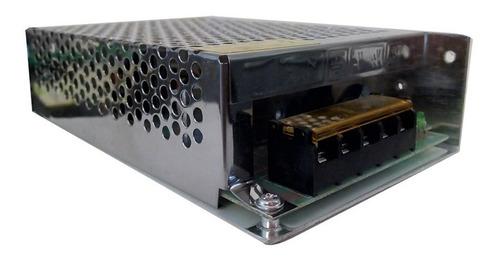 fuente switching 12v 8,3a amp camara leds seguridad cctv