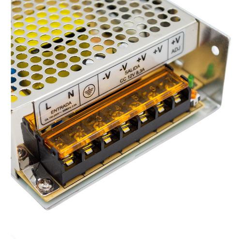 fuente switching de alimentación 12v 8.3a