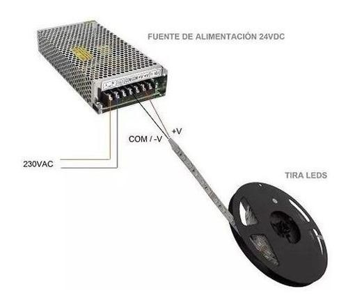 fuente switching metal alimentacion 12v 4a 50w 50hz cuotas sin interes