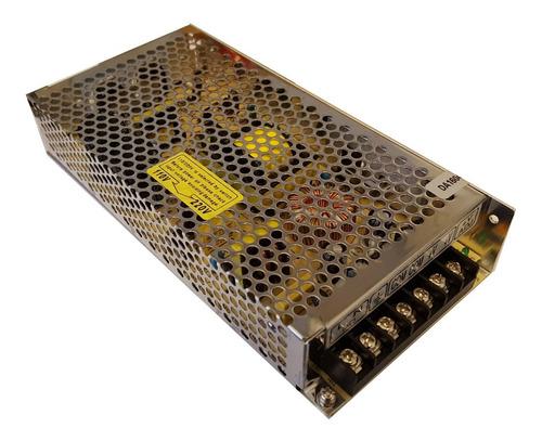 fuente switching metalica 12v 15a led camaras