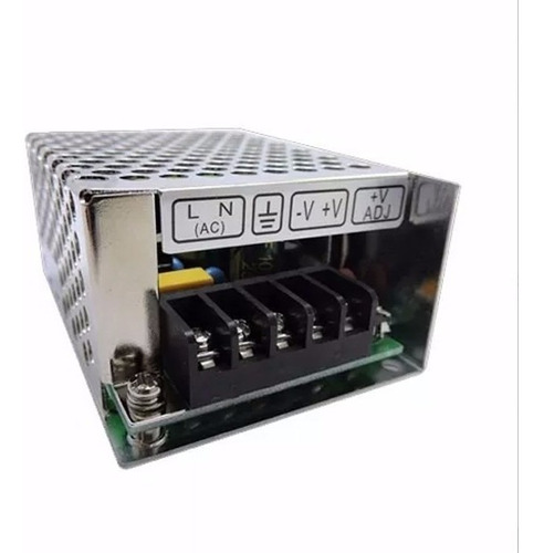 fuente switching metalica interior 12v 2.1 amp tecnopointled