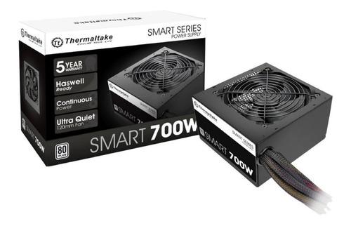 fuente thermaltake smart 700w white 80 plus pce