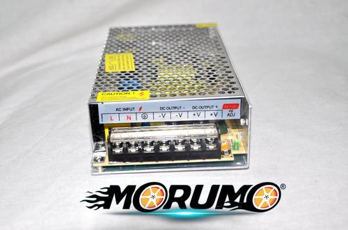 fuente transformador 110v a 12v 20 amp