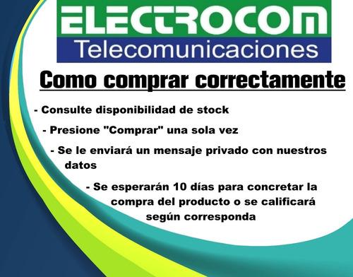 fuente / transformador 12v 10a / cctv -  electrocom-