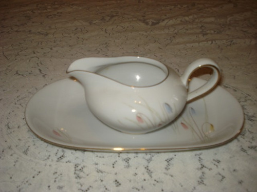 fuente y salsera de porcelana kpm