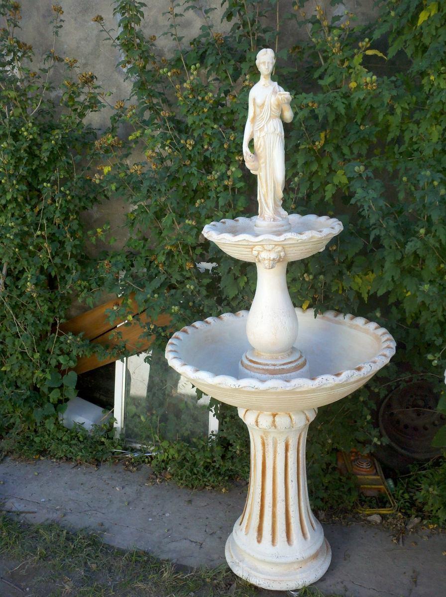 fuentes agua para jardin