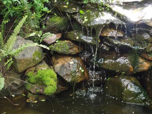 fuentes de agua, cascadas, estanques