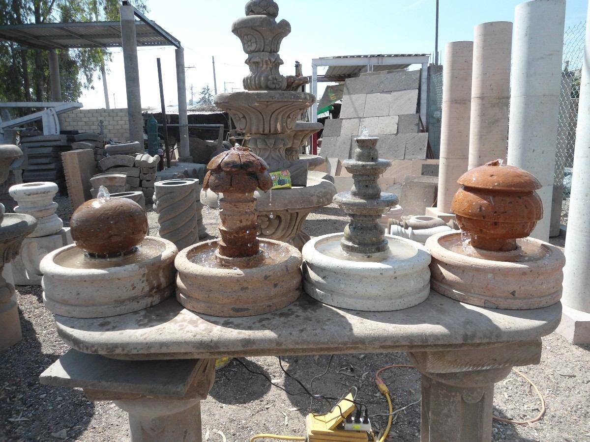 Fuentes de agua hechas de cantera 100 natural for Fuente agua jardin