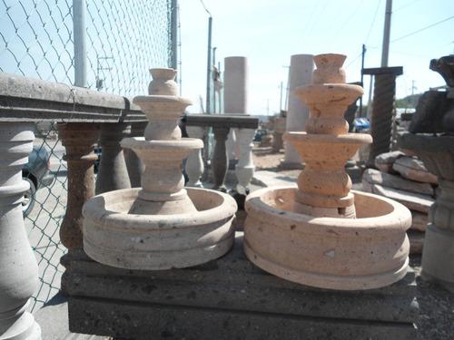 fuentes de agua hechas de cantera 100% natural