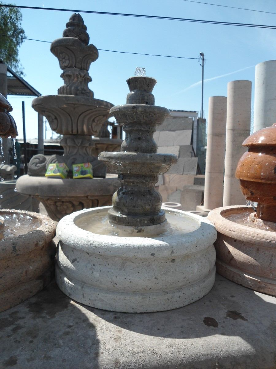 Fuentes de agua hechas de cantera 100 natural en mercado libre - Fuentes de pared ...