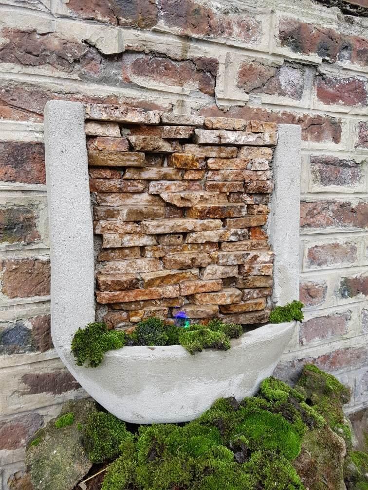 Fuentes de pared fuentes de pared fuentes de agua muros - Fuentes de cascada ...