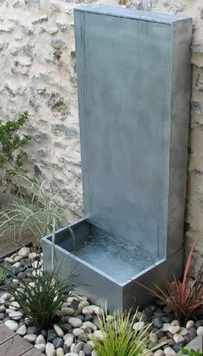 fuentes de agua y cascadas personalizadas ¡concretá tu idea!