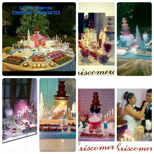 fuentes de chocolate chriscomercio 993456723