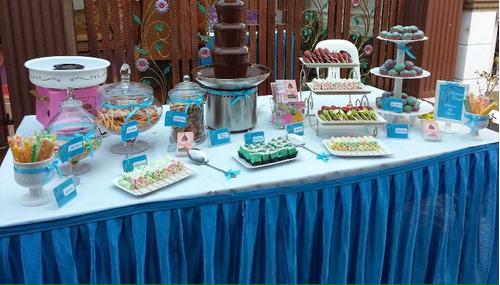 fuentes de chocolate para celebraciones, primeras comunio