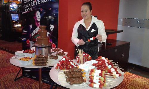 fuentes de chocolate sephra alquiler y venta, maiz, perros