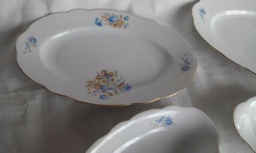 fuentes y bandejas porcelana checa mz- lea mas