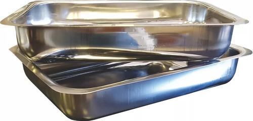 fuenton bandeja 38x28 acero inox. carniceria gastronomia