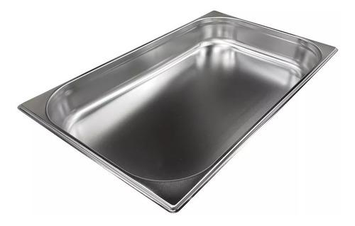 fuenton bandeja gastronomica gn 1/1 x 15 cm acero inox 18/8