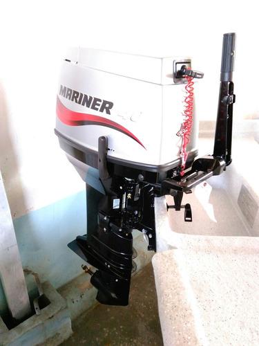 fuera de borda mariner 40 hp manual. nautica garrido