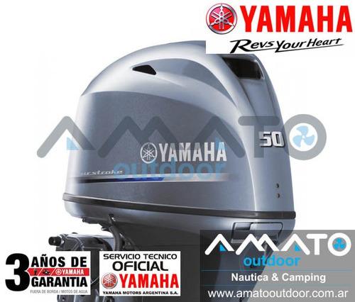 fuera de borda yamaha 50 hp 4t f50hetl
