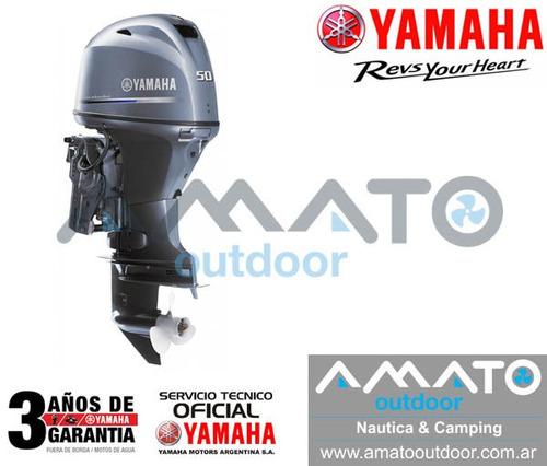 fuera de borda yamaha 50 hp 4t f50hetl importante descuento