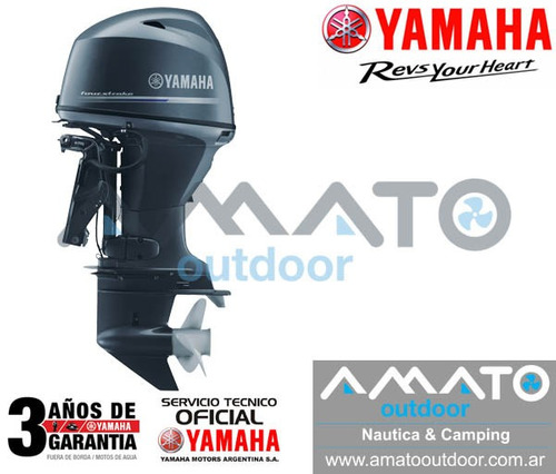 fuera de borda yamaha 70 hp 4t f70aetl importante descuento
