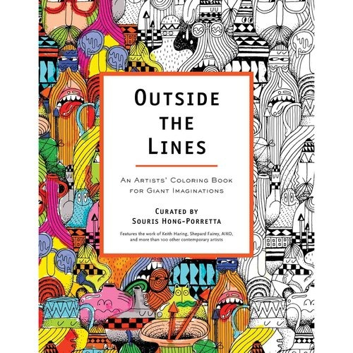 Fuera De Las Líneas: Libro De Colorear De Artistas Para - $ 136.550 ...