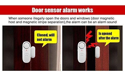 fuers - alarma de puerta para oficina en casa (110 db)