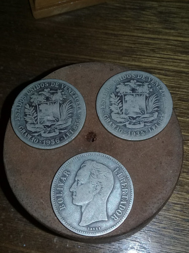 fuertes de plata 25gr año 1900, monedas 10gr- 5gr 1919-1954