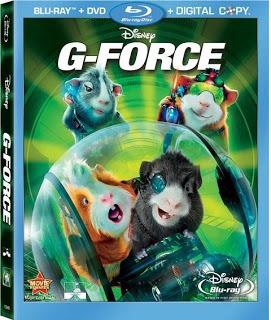fuerza g bluray + dvd original nuevo