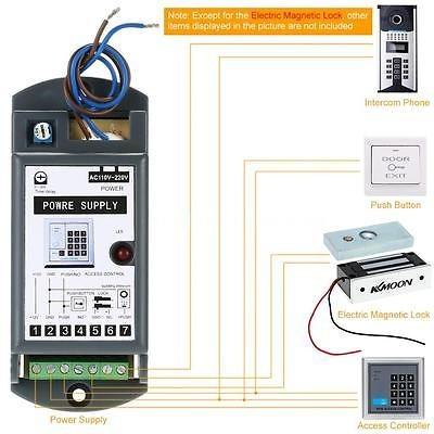 fuerza holding eléctrico cerradura magnética de puerta
