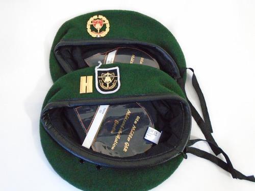 fuerzas especiales mexico boina alemana color verde