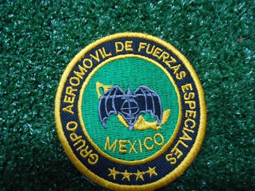 fuerzas especiales mexico parche bordado 2x1