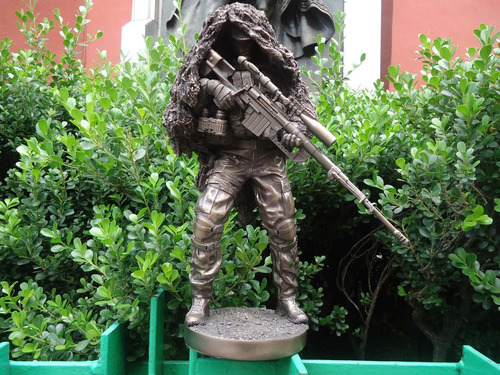 fuerzas especiales mexico soldado de mármol