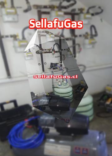 fuga  de gas gasfiter certificado sec prodoral sellafugas