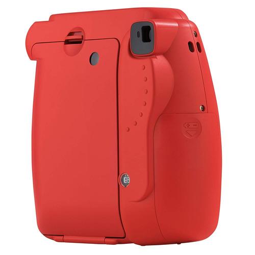 fuji instax mini 8 rojo instax mini 8 cámara frambuesa