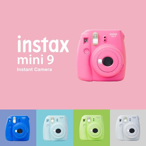 fuji instax mini 9 + 10 films gratis! - inteldeals