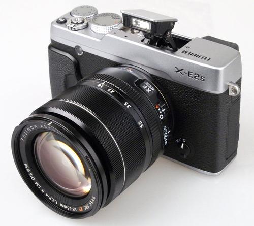 fujifilm camara fujifilm x-e2s silver xf 18-55mm f/2.8-4 r l