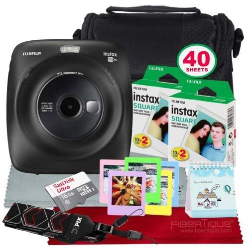 ed45e0a47194 Fujifilm Cámara Instantánea Híbrida Instax Square Sq20 ...