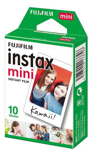 fujifilm instax mini 10 sheets filme papel foto branco
